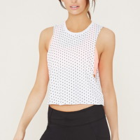 Active Polka Dot Muscle Tee