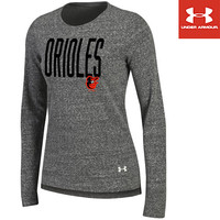 Baltimore Orioles Women's Terry Crewneck Pullover by Under Armour® - MLB.com Shop