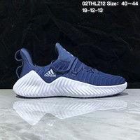KUYOU A373 Adidas Alphabounce Beyond Breathable Runing Shoes Blue