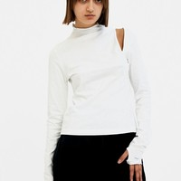 SIRLOIN White Long Clavic-T T-shirt