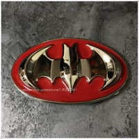 Red Batman Belt Buckle