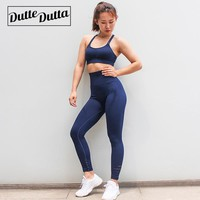 Duttedutta Workout Clothes For Women Sportswear Sport Suit Gym Sports Active Wear Fitness Clothing Sport Bra Leggings Yoga Set