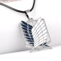 Attack on Titan Wings of Liberty Pendant Necklace