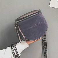 Crossbody Bag For Women Messemger Bags Bucket Bags Pu Leather Fashion Women's Shoulder Bag Lady Semicircle Saddle
