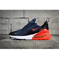 Air Max 270 Navy/Orange AH8050-401 Running Shoe