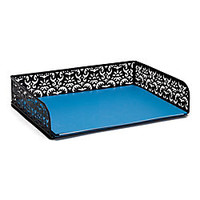 Realspace Brocade Document Tray Black by Office Depot