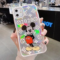 Louis Vuitton LV x Disney Mickey Newest Popular Stylish Phone Cover Case For iphone 6 6s 7 7plus iPhone X XR XS XS MAX IPhone 11 11pro 11Pro Max