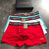 Gucci Men Fashion Comfortable Underpant Brief Panty