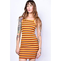 Been There Done That Striped Bodycon