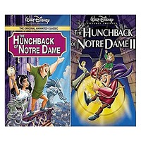 Walt Disney's The Hunchback of Notre Dame 1&2 DVD Set 2 Movie Collection