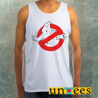 Ghostbusters logo Clothing Tank Top For Mens