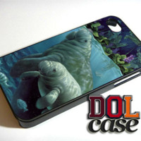 Manatees on Pinterest iPhone Case Cover | Free Shipping | Alpa 478