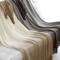 Hotel Collection Blanket, Ombre Throw - Blankets & Throws - Bed & Bath - Macy's