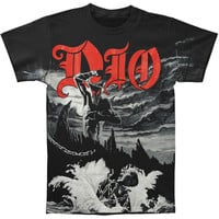 Dio Men's  Holy Diver Allover T-shirt Black