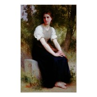 Song of the Nightingale by Bouguereau