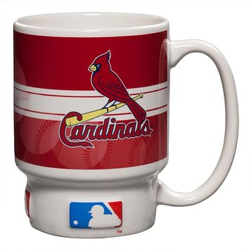 St. Louis Cardinals - Baseball Logo Homerun 16 oz Mug