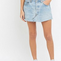 Urban Renewal Vintage Re-Made Denim Super Mini Skirt - Urban Outfitters