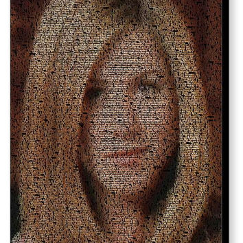 FRIENDS TV Show Rachel Green Quotes Mosaic INCREDIBLE
