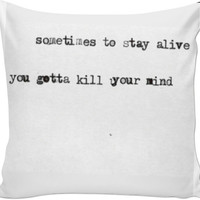 Twenty One Pilots Pillow