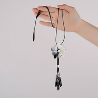 Author's pendant with cow horn