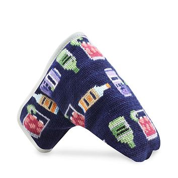 Make a Transfusion Needlepoint Putter Headcover by Smathers & Branson