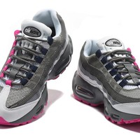NIKE AIR MAX 95 grey mei red 36-40