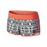 Hurley Supersuede Printed Beachrider Women's Boardshorts Size Large (White)