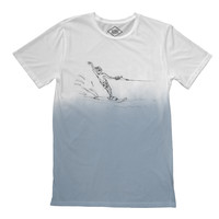 Altru Apparel Spilsbury Waterskiing Tee (DipDye water illusion)