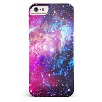 Bright Trippy Space iPhone 5/5s or SE INK-Fuzed Case
