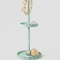 Aqua Bird Jewelry Holder