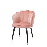 Blush Scalloped Dining Chair | Eichholtz Bristol
