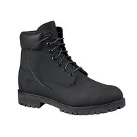 Mens Timberland 6 Scuff Boot, Black, at Journeys Shoes