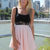 CINDERELLA DRESS , DRESSES, TOPS, BOTTOMS, JACKETS & JUMPERS, ACCESSORIES, 50% OFF SALE, PRE ORDER, NEW ARRIVALS, PLAYSUIT, COLOUR, GIFT VOUCHER,,Pink,LACE,CUT OUT,SLEEVELESS Australia, Queensland, Brisbane