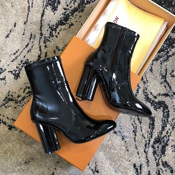 Louis Vuitton Lv Silhouette Ankle Boot #2226