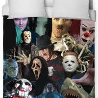 Cinema Killers Duvet Cover