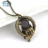 Ice of Song and Fire King Hand Necklace Game of Thrones Movie Jewelry Vintage Accessories Necklaces Collier for Women Men