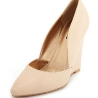 POINTY TOE WEDGE PUMP
