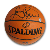Autographed Larry Bird Spalding Nike Elite Basketball