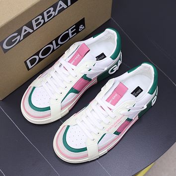 D&G  Woman's Men's 2021 New Fashion Casual Shoes Sneaker Sport Running Shoes06030gh