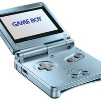 Game Boy Advance SP Pearl Blue