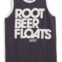 Boy's Prefresh 'Root Beer Float' Graphic Slub Cotton Tank,