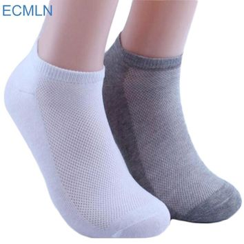 5Pairs Womens Socks Ankle Socks Summer Thin Boat Socks Female Solid White Gray Black Casual 3d Mens Ladies Socks Art Hot