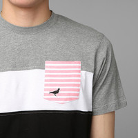 Urban Outfitters - Staple Colorblock Printed-Pocket Tee
