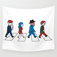 Hannibey Road Wall Tapestry by Huebucket