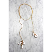 Biwa Wrap Necklace - Christine Elizabeth Jewelry