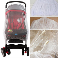Outdoor Baby Infant Kids Stroller Pushchair Mosquito Insect Net Mesh