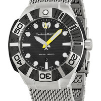 Men's Reef Stainless Steel Mesh Bracelet Watch