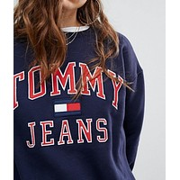 Tommy Jeans  Cotton Crewneck sweater