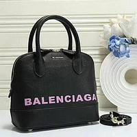 Balenciaga Fashion Leather Handbag Tote Satchel Bag