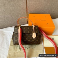 LV   Women Leather Shoulder Bag Shopping Satchel LV Tote Bag Handbag